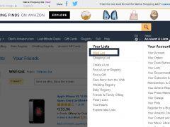 как подключить список предпочтений amazon wishlist к chaturbate и получать подарки с доставкой в наши страны